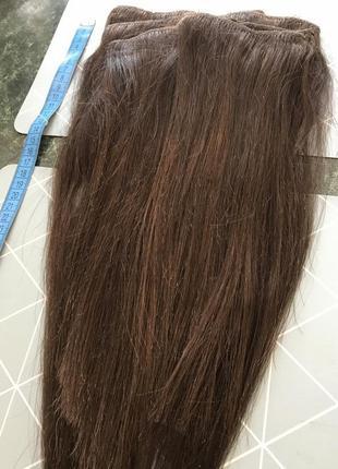 Волосы натуральные на тресах
