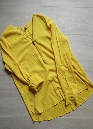 Желтая блуза