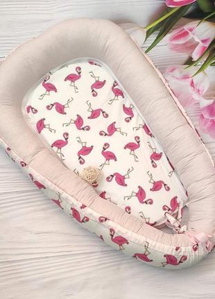 Кокон позиционер гнездо для малыша