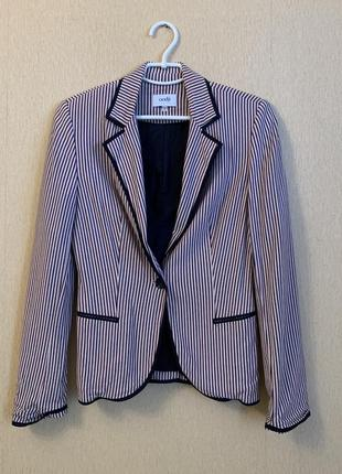 Пиджак полосатый oodji жакет
