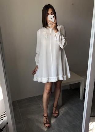 Платье белое для будущей мамы в бохо стиле нежное воздушное asos maternity