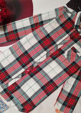 Халат-рубашка f&f, хлопок, размер 12-14 или l или xl