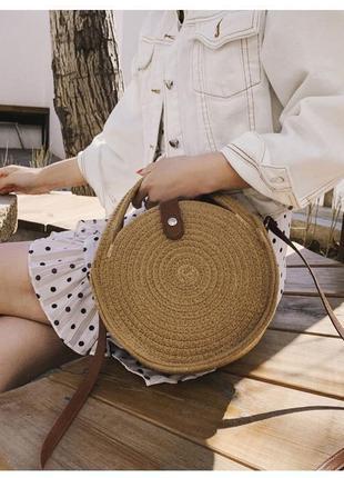 Тканевая сумка пляжная