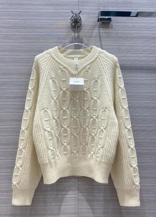 Кашемировый свитер hermes