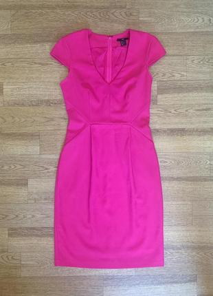 Яркое классическое платье h&m