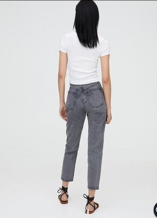 Идеальные джинсы мом pull&bear
