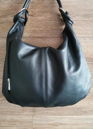 Женская сумка с короткой ручкой, сумка на плечо из натуральной кожи vera pelle italy