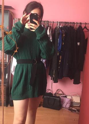 Свитер зелёный