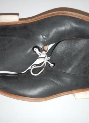 Кожаные оксфорды / броги / туфли / ботинки