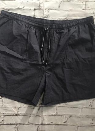 Серые домашние шорты хлопков це livergy большой размер