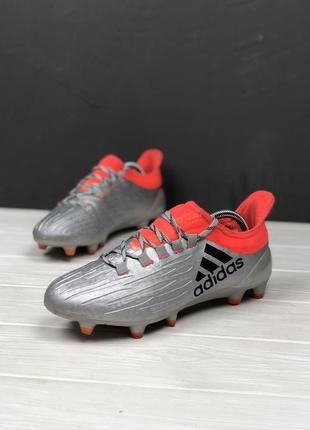Бутсы adidas original 40 копочки бампы шиповки футбольные
