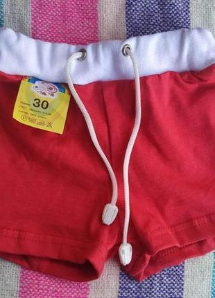 Шортики для девочки, 30 размер