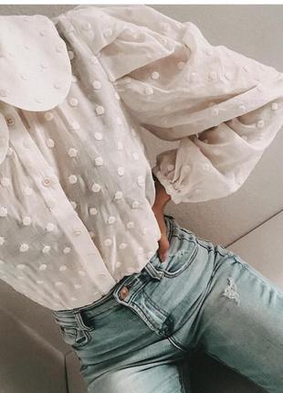 Шикарная блуза - рубашка zara