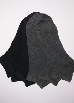 Носки мужские низкие поштучно и комплектом carrefour tex