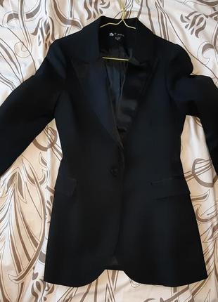 Женский классический пиджак, чёрный
