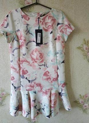 Новое женское платье # нарядное платье # платье ровного кроя # m&s