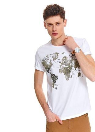 Новая белая базовая футболка, 100% хлопок, все размеры