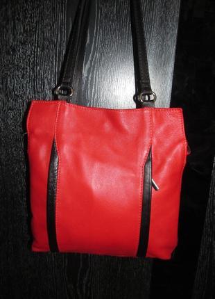 Кожаная сумка-рюкзак италия