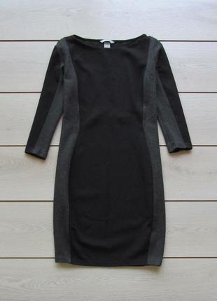 Платье по фигуре с плотного трикотажа от h&m