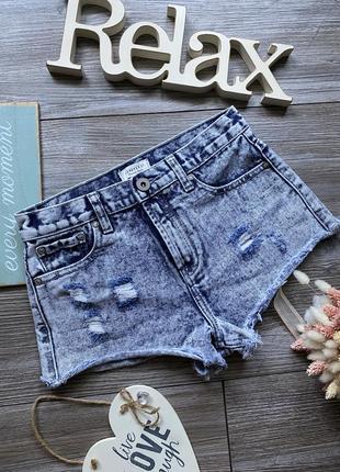 Шорты джинс forever 21 xs-s