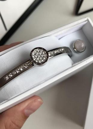 Стильний браслет с кристалами з нержавійочої сталі від бренду dyrberg kern з сайту asos