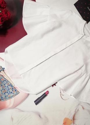 Модная рубашка next, 100% лен, размер 12/40