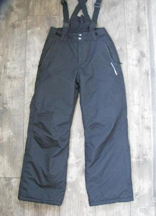 Новые штаны лыжные 11-12 лет рост 152 см зимние теплые mountain peak франция