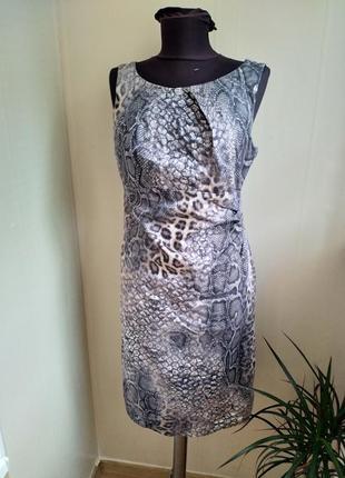 Шикарное приталенное платье