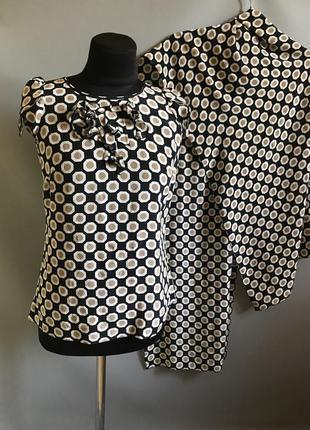 Блузка шёлк