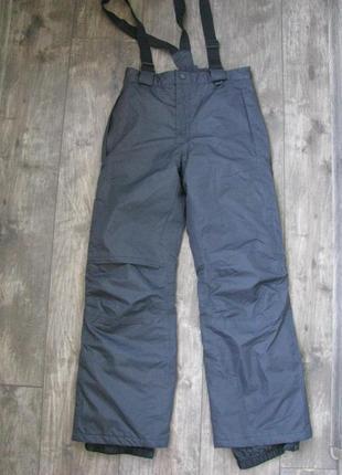 Новые штаны лыжные 11-12 лет рост 146-152 см зимние теплые crivit германия