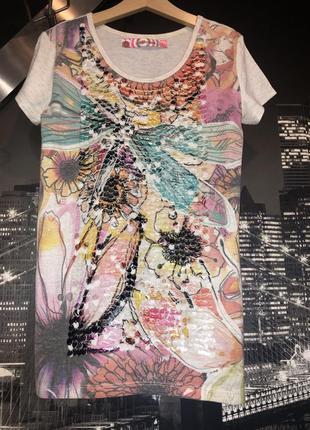 Мега красивая футболка для девочки подростка