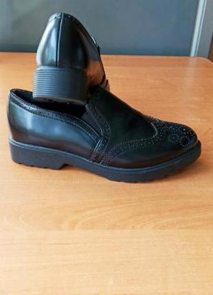 Оксфорды дерби туфли