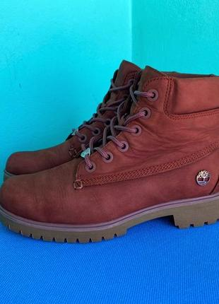 Ботінки timberland boots (шкіра-нубук)