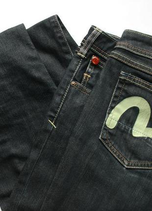 Женские зауженные джинсы evisu x puma