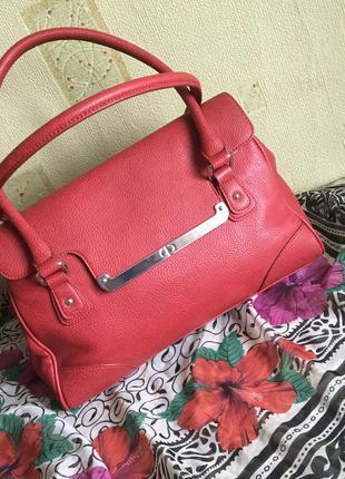 Крутая красная сумка 👜 debenhams