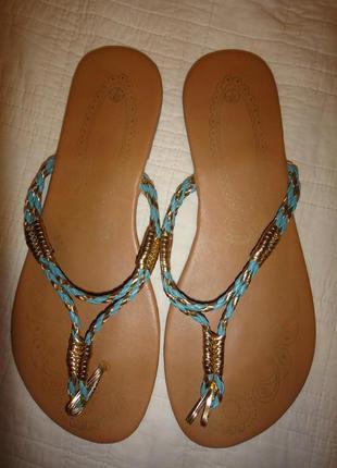 Изящные летние женские, босоножки, сандалии р. 39 - 40 (7) стелька 26см