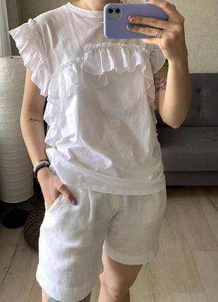 Льняные базовые шорты lawrence grey