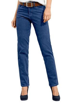 Стильные слегка зауженные стрейчевые  джинсы lantis