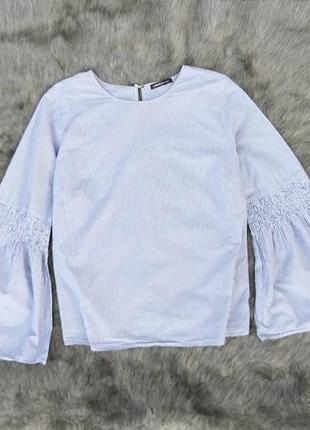Хлопковая блуза кофточка marks and spencer