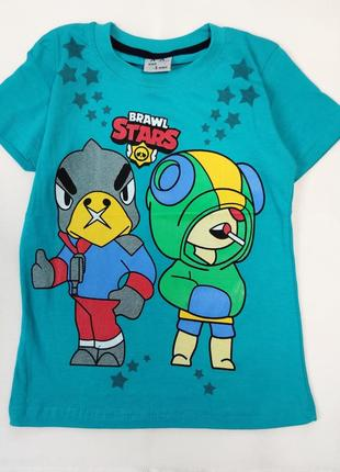 Детская футболка brawl stars 5-8 лет 4100-2