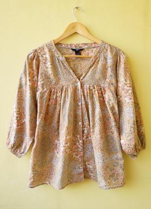 Хлопок 100% блуза h&m рубашка