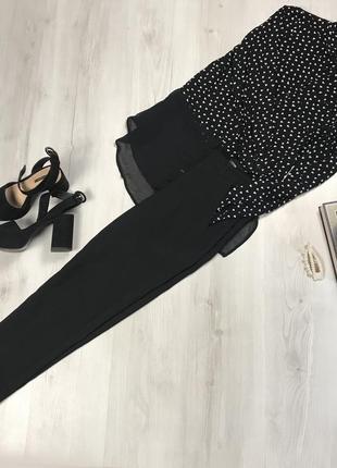 N8 черные брюки gloria jeans классические женские брючки глория джинс фирменные