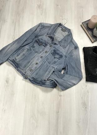 N8 джинсовая курточка vero moda