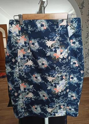 Юбка с цветочным принтом бренда oasis