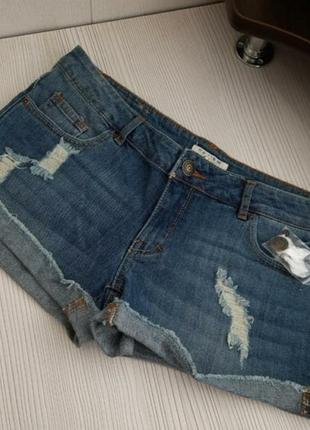 Стильные брендовые шорты/качественные джинсовые шорты
