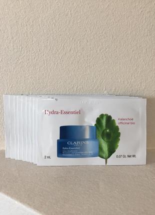 Clarins hydra-essentiel silky cream увлажняющий крем для лица