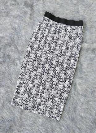 Трикотажная юбка карандаш george