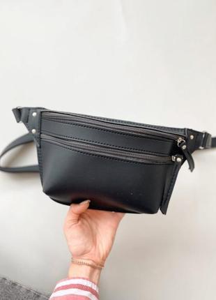 Поясная сумочка темно-синяя