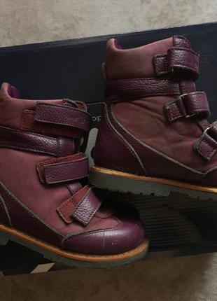4restorto ортопедические кожаные ботинки размер 28