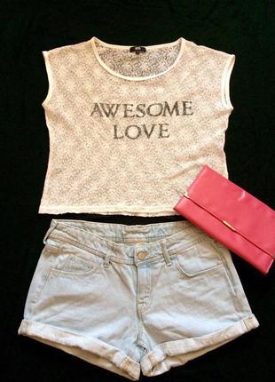 Стильная летняя футболка yes or no,блуза,блузочка,майка+подарок